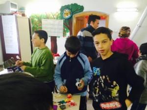 PTE FEEK hallgatók önkéntesként Gilvánfán 4 (2015.04.07.)
