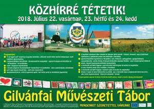 Gilvánfai Művészeti Tábor (2018)